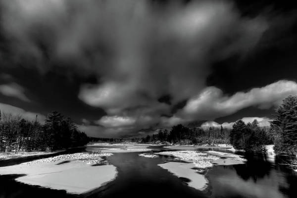 Photograph - December Snow On The Moose River by David Patterson