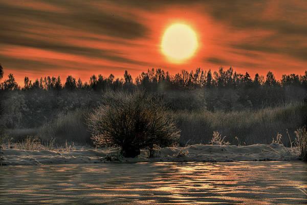 Photograph - December Sun #f3 by Leif Sohlman