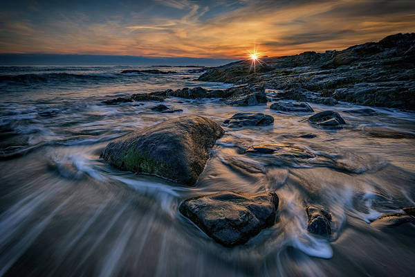 Berk Wall Art - Photograph - December Sunrise In Ogunquit by Rick Berk