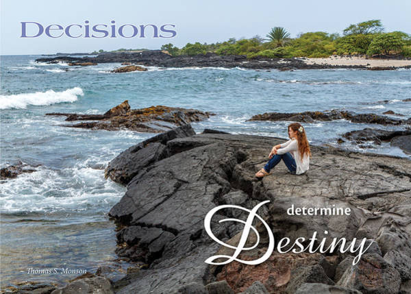 Photograph - Decisions Determine Destiny by Denise Bird