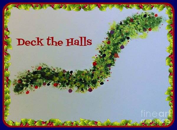 Painting - Deck The Halls by David Neace