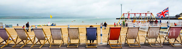 Photograph - Deckchairs by Colin Rayner