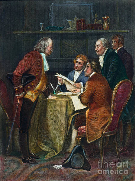 Photograph - Declaration Committee by Granger