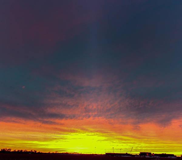Photograph - December Nebraska Sunset 001 by NebraskaSC