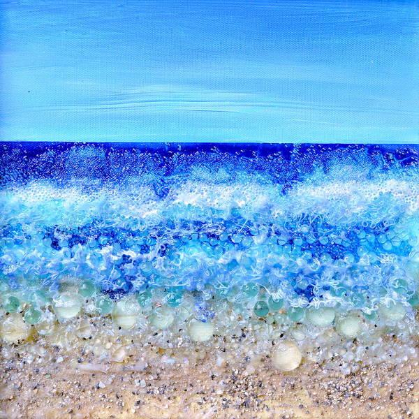 Painting - Deco Beach by Regina Valluzzi