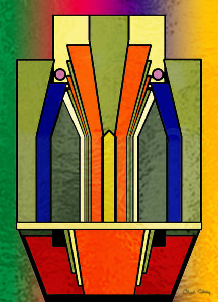 Digital Art - Deco Design 23 by Chuck Staley