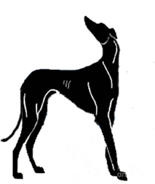 Wall Art - Painting - Deco Dog by Jennifer Howard