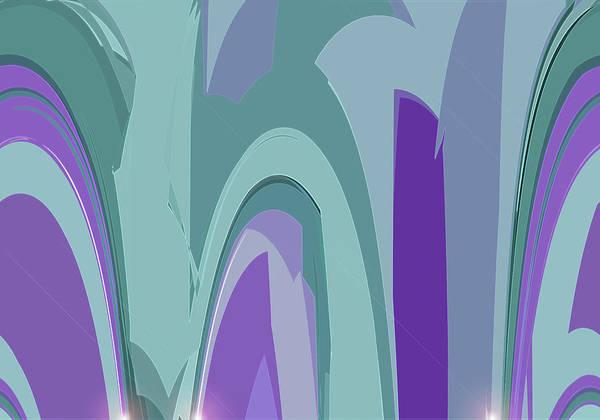 Digital Art - Deco Marquee by Gina Harrison