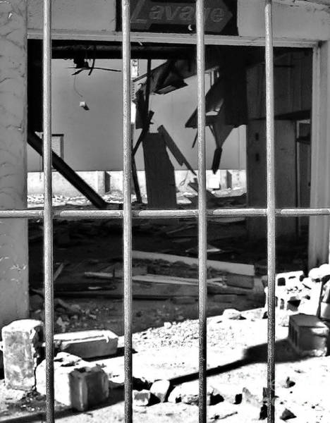 Deconstruction Photograph - Decon Lasalle Blvd by Reb Frost
