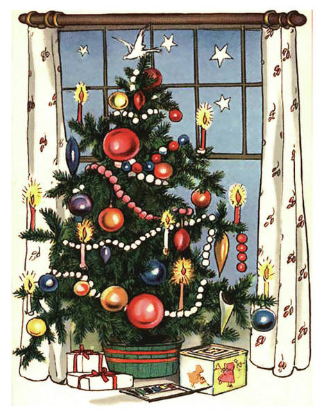 Christmas Gift Digital Art - Decorated Christmas Tree With Gifts by Long Shot