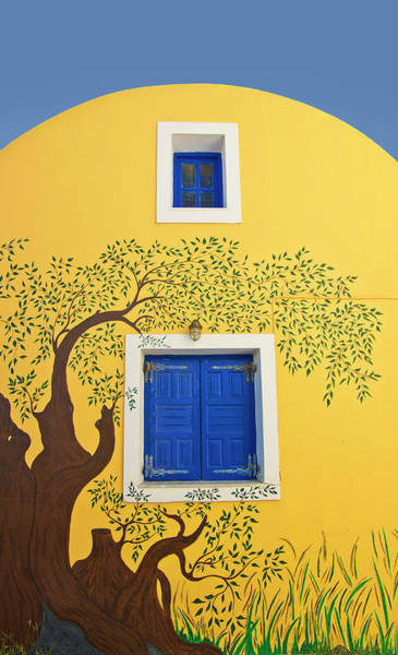 Wall Art - Photograph - Decorated House by Meirion Matthias
