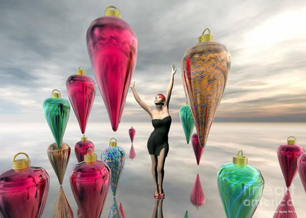 Wall Art - Digital Art - Decorating For The Holidays by Sandra Bauser Digital Art