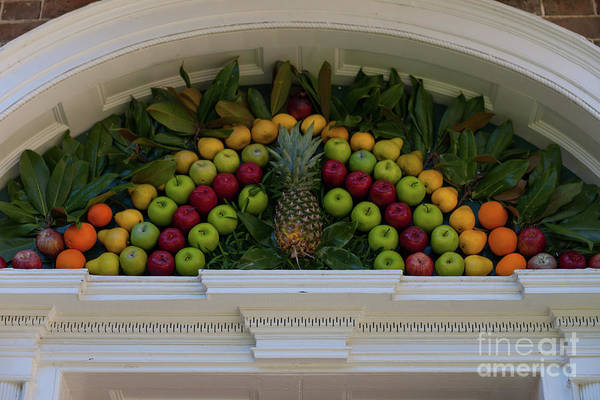 Photograph - Decorating With Fruit by Dale Powell