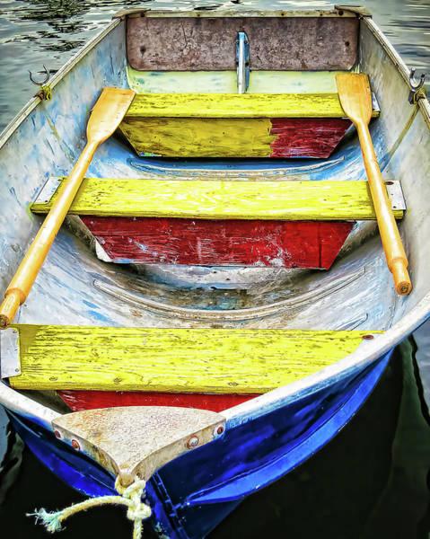Photograph - Decorative Boat by Tatiana Travelways
