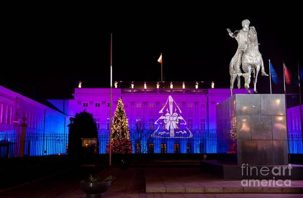 Wall Art - Photograph - Decorative Christmas Illuminations by Arletta Cwalina