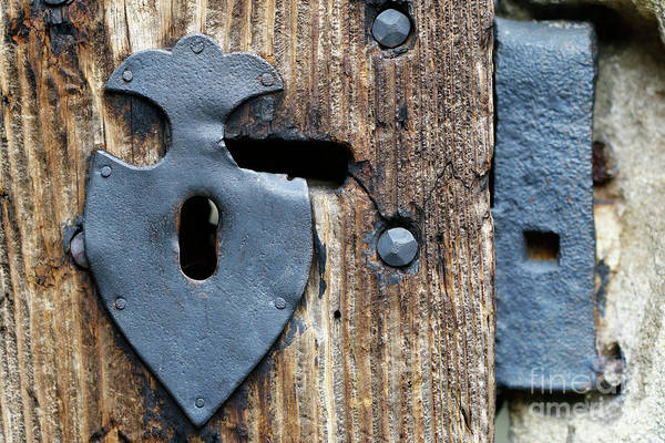 Old Wall Art - Photograph - Decorative Door Fittings by Michal Boubin