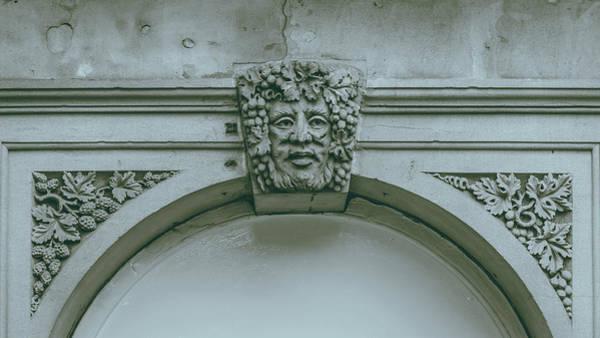 Photograph - Decorative Keystone Architecture Details J by Jacek Wojnarowski