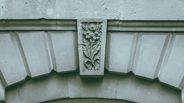 Photograph - Decorative Keystone Architecture Details K by Jacek Wojnarowski