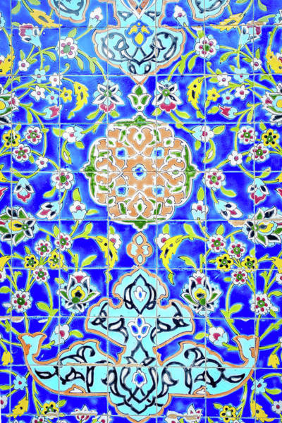 Wall Art - Photograph - Decorative Tiles by Alexey Stiop