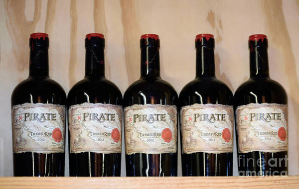 Photograph - Decorative Wallart Wine Photo A41217 by Mas Art Studio