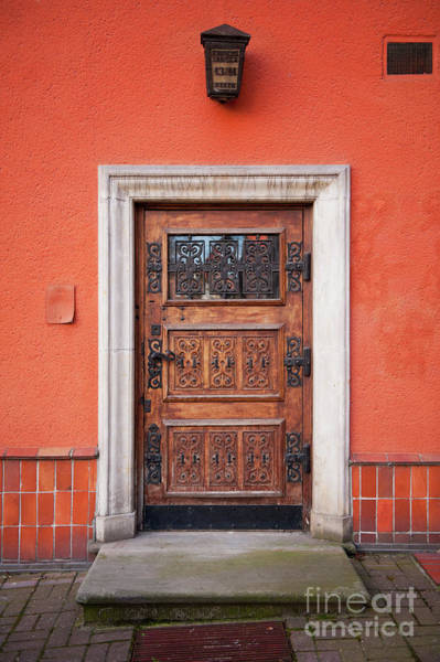 Wall Art - Photograph - Decorative Wooden Doors In Gdansk by Arletta Cwalina