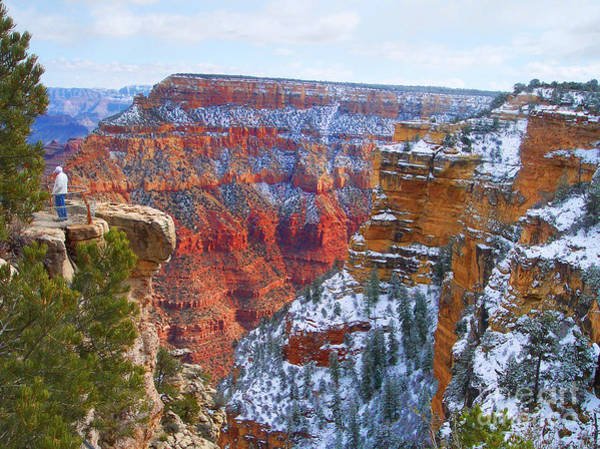 Photograph - Deep And Wide Grand Canyon  by Roberta Byram