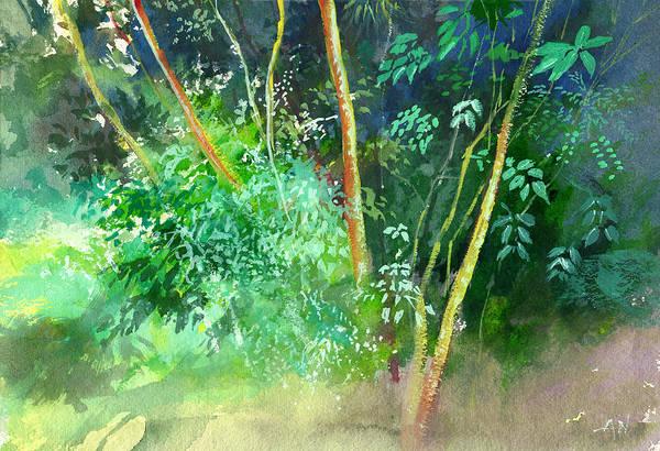Painting - Deep by Anil Nene