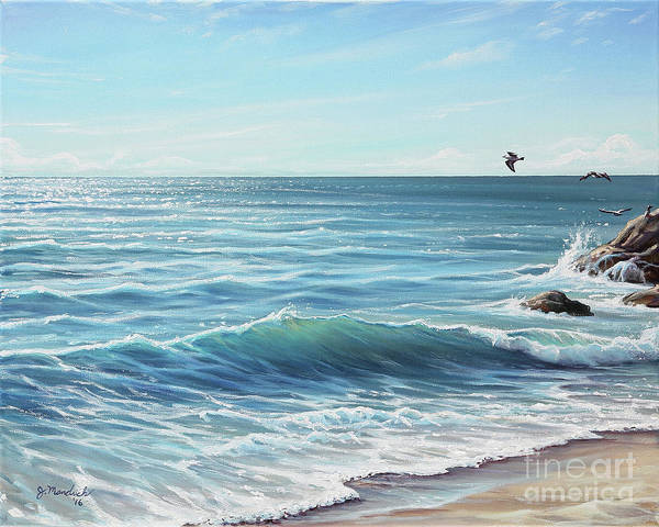 Painting - Deep Blue Sea by Joe Mandrick