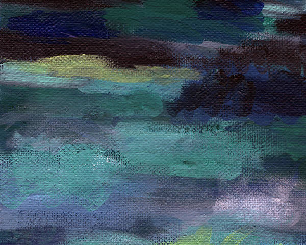 Painting - Deep Dreams- Abstract Art by Linda Woods