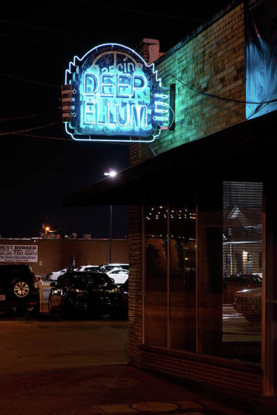 Photograph - Deep Ellum Dallas Blue by Rospotte Photography
