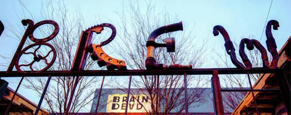 Photograph - Deep Ellum Metal Brew Pub Art - Dallas by Gregory Ballos