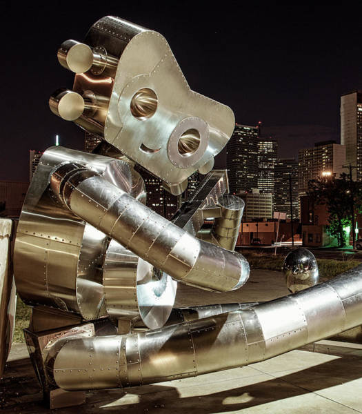 Photograph - Deep Ellum Sculpture 070218 by Rospotte Photography