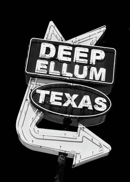 Wall Art - Photograph - Deep Ellum Texas by Stephen Stookey