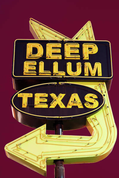 Photograph - Deep Ellum Texas Red by Rospotte Photography