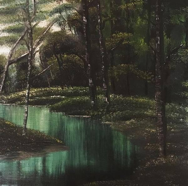 Wall Art - Painting - Deep Green Woods by Rachel Joy Gingerich