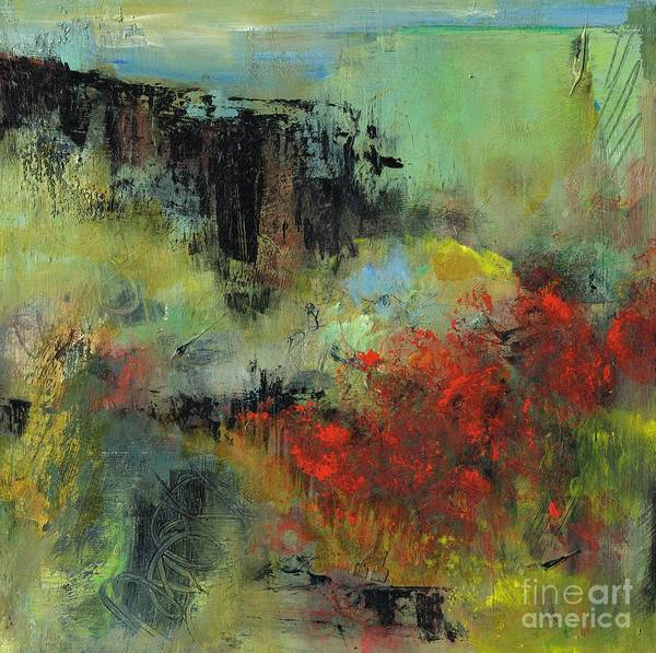 Wall Art - Painting - Deep Into The Canyon by Frances Marino