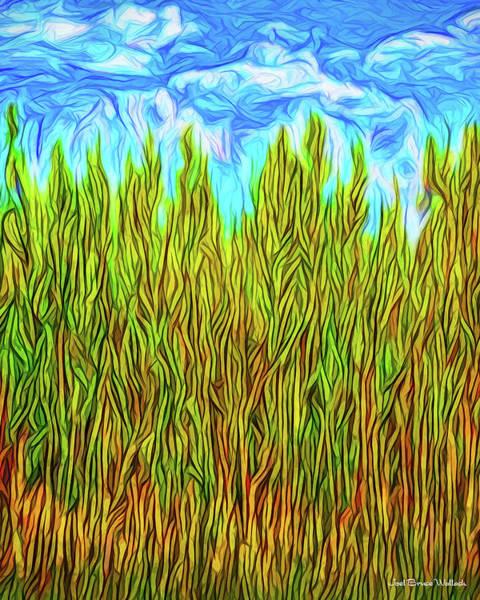 Digital Art - Deep Pine Time by Joel Bruce Wallach
