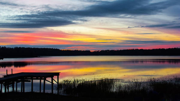 Photograph - Deep Purples And Pinks Panorama by Parker Cunningham