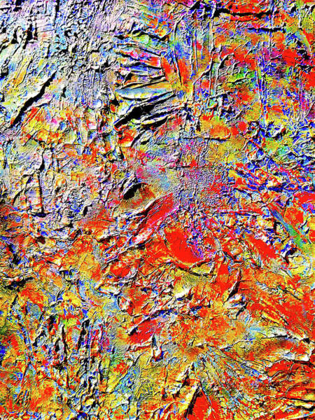 Painting - Deep See Blossom by Monique Wegmueller