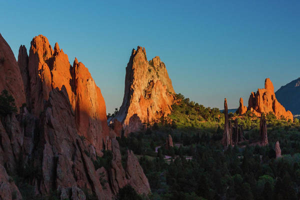 Photograph - Deep Sunset At Garden Of The Gods by Lon Dittrick
