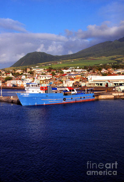 St Kitts Photograph - Deep Water Harbour by Thomas R Fletcher