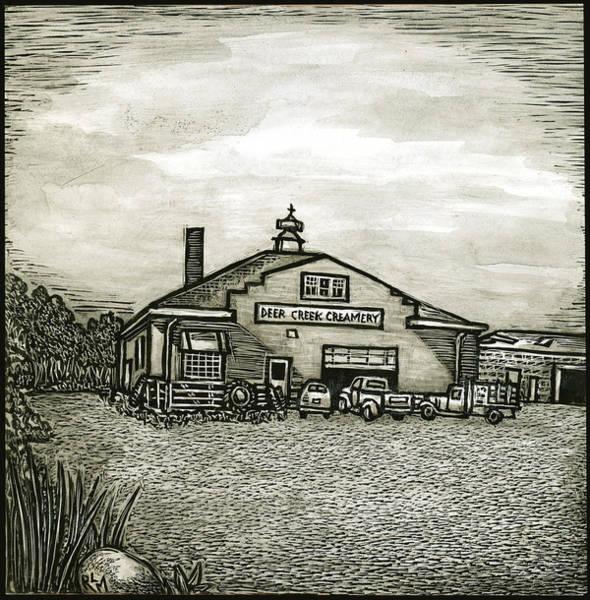 Deer Creek Creamery Art Print