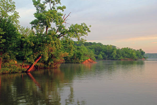 Photograph - Deer Creek Shoreline by Angela Murdock