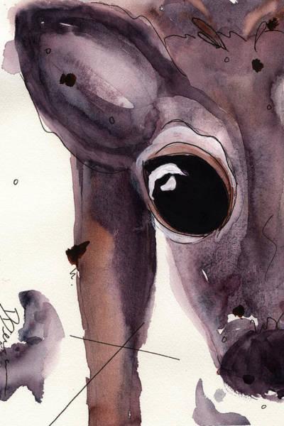 Painting - Deer by Dawn Derman