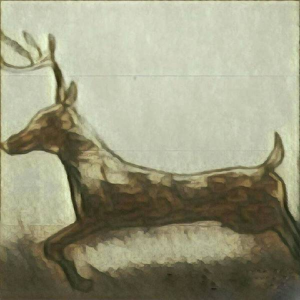 Painting - Deer Energy by Margaret Welsh Willowsilk