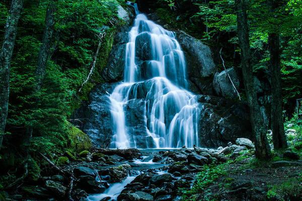 Photograph - Deer Hollow Brook Becomes Moss Glen Falls by Jeff Folger