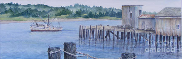 Painting - Deer Island  Original...sold by Sandy Brindle