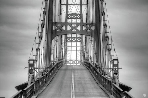 Deer Isle Sedgwick Bridge Art Print