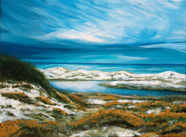 Gulf State Park Painting - Deer Lake State Park by Racquel Morgan