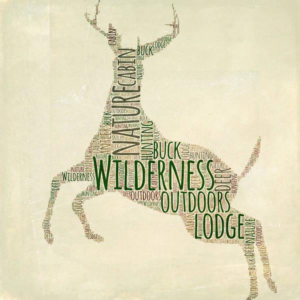 Deer Digital Art - Deer Leaping by Brandi Fitzgerald